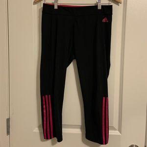 Adidas Climalite Cropped Workout Pants size M